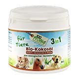 100ProBio Kokosöl für Tiere - rein natürlich - ohne Chemie | für Hunde, Katzen & Pferde | für das Fell, Nahrungsergänzung und mehr