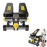 Stepper, Mini-Trainingsgerät, ausgestattet mit Trainingsgürtel, rutschfestem, einstellbarem Widerstand und kabelloser Konsole - Geeignet für die Kalorienverbrennung in der Familie und im Fitnessstudio